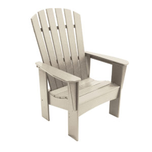 King Windsor Adirondack Chair in white from By The Yard